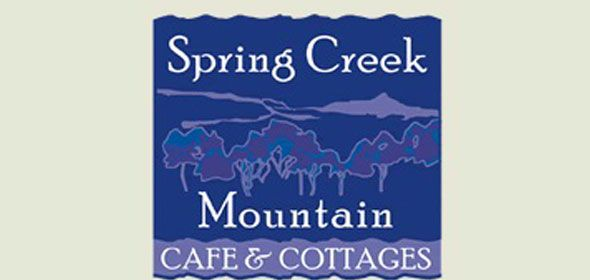 Spring Creek Mountain Cafe & Cottages Logo